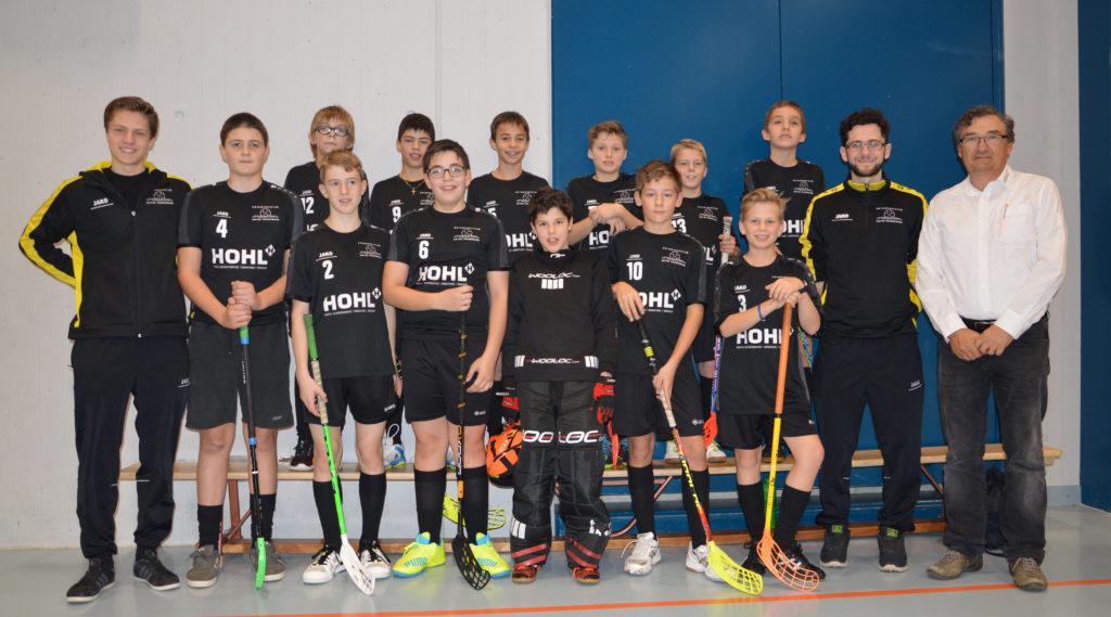 Teamfoto Junioren C Wattwil