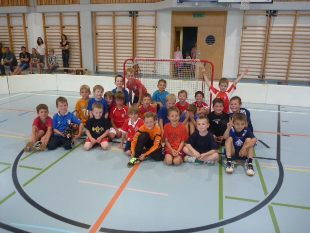 Saisonabshcluss 2014 Unihockeyschule Oberuzwil