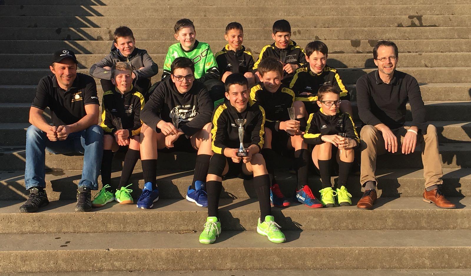 Teamfoto Junioren C Wattwil 2017-18